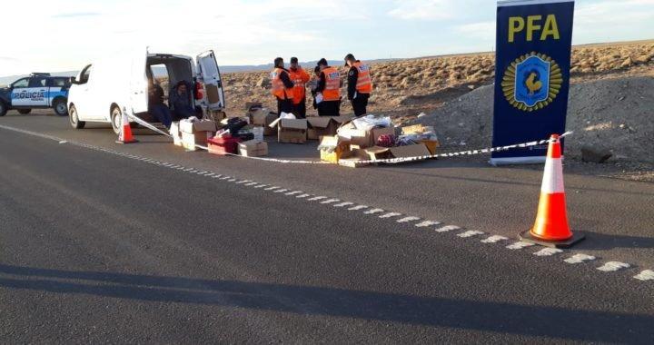 La Policía Federal secuestró gran cantidad de mercadería de contrabando