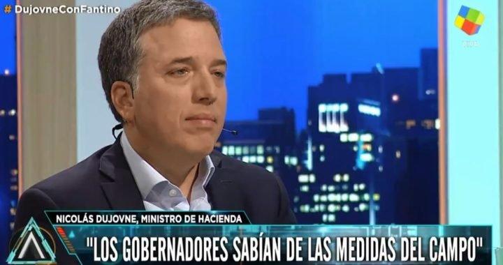 """Nicolás Dujovne: """"No hay ninguna chance de default ni de 2001"""""""