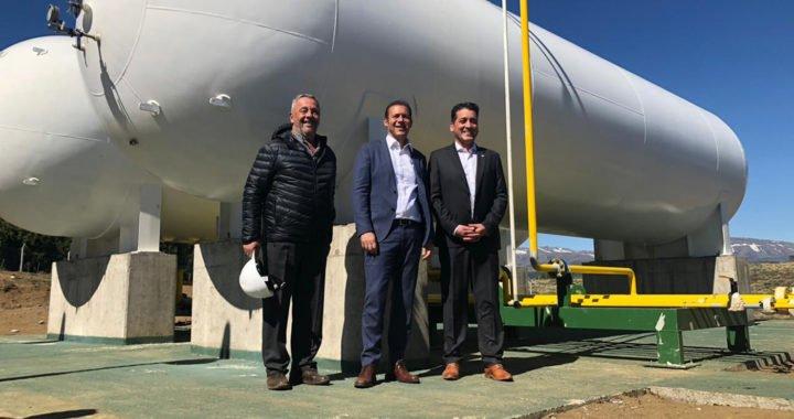 Con nueva planta de gas, Aluminé festejó su 103° aniversario