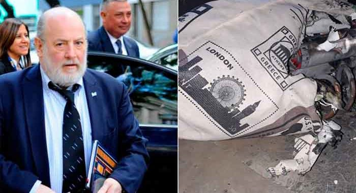 Detonaron una bomba casera en la casa del juez Bonadio