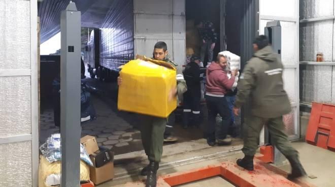 Contrabando: detuvieron camión con una carga de 19 millones de pesos en Pino Hachado