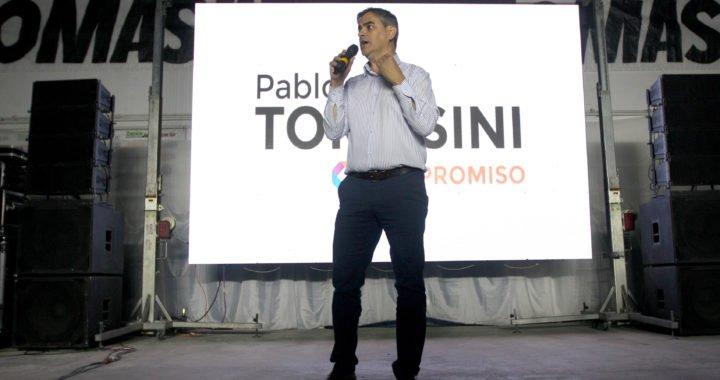 Pablo Tomasini presentó su candidatura para Intendente Zapala 2019