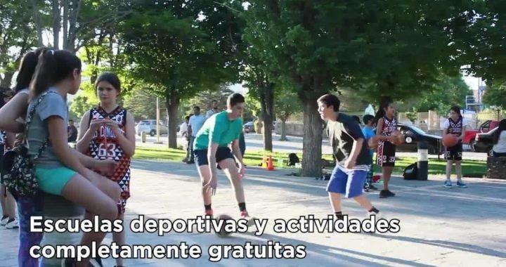 """Gastón Calabró:""""En Zapala se le ha dado prioridad a la cultura y al deporte"""""""