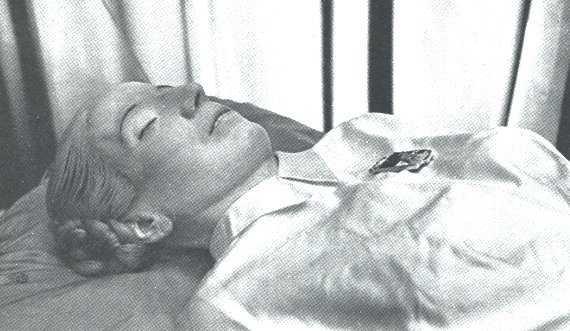 El camino secreto de un cadáver llamado Eva