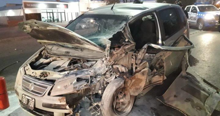 Falleció un conductor tras un choque sobre Ruta 22, a la altura de Plaza Huincul