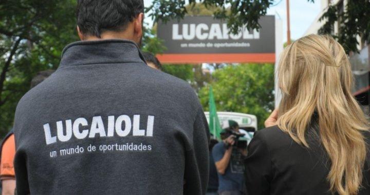 Lucaioli y Saturno oficializan la suspensión de actividades