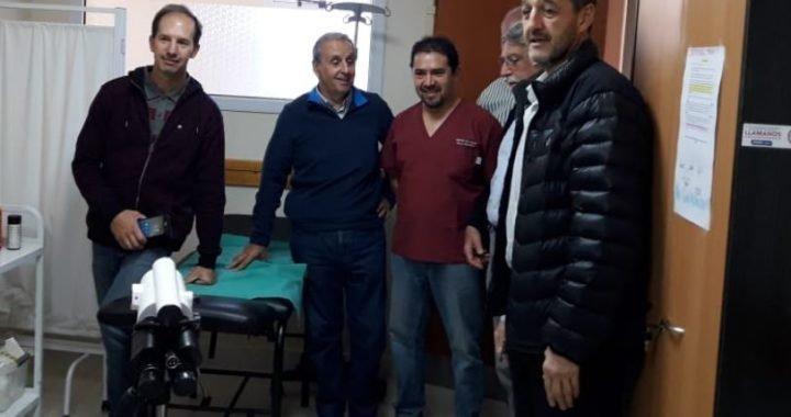 Donaron aparatología para el Centro de Salud de Villa Pehuenia