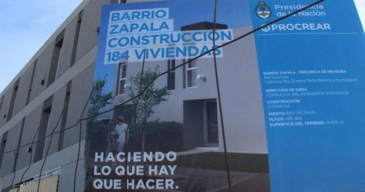 ProCreAr: Comienza la inscripción para las nuevas viviendas en Zapala