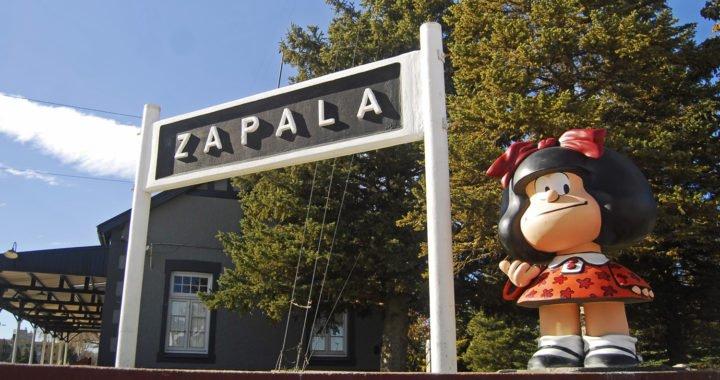 Mafalda es recordada tras su paso por Zapala