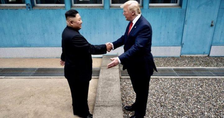 Trump es el primer presidente de EE.UU. en pisar Norcorea
