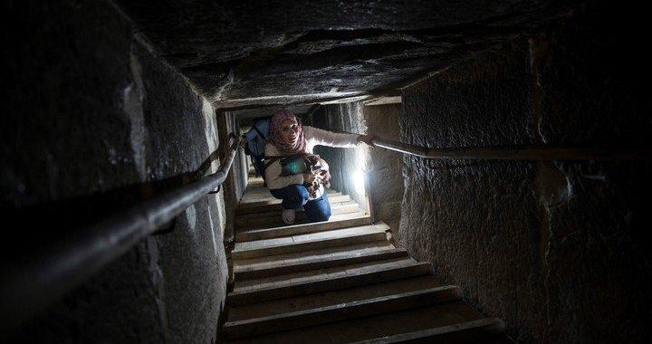 Egipto abrió al público dos de sus pirámides por primera vez desde 1965
