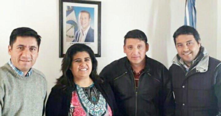 Reunión con el intendente de Andacollo Ariel Aravena