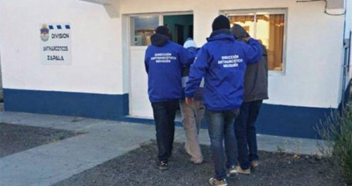 Un agente penitenciario y un gendarme lideraban una banda narco en Zapala