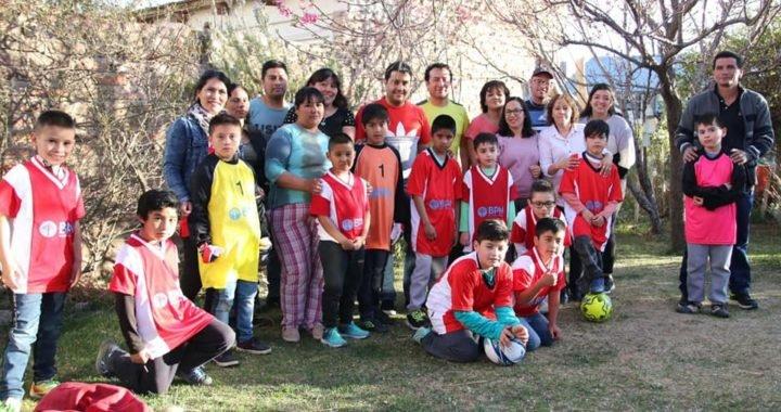 Visitamos la Escuelita de Fútbol Municipal