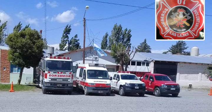 Renunciaron todos los bomberos voluntarios de Las Lajas por falta de fondos