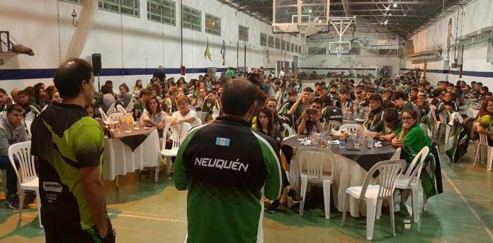 Neuquén viajó rumbo a La Pampa para competir en los Juegos de la Araucanía