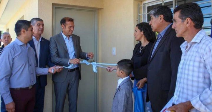 Gutiérrez entregó 20 viviendas en Mariano Moreno