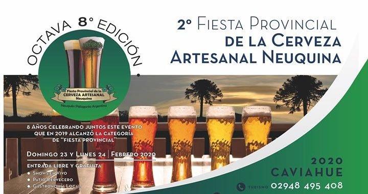 Se viene la 2º Fiesta Provincial de la Cerveza Artesanal Neuquina