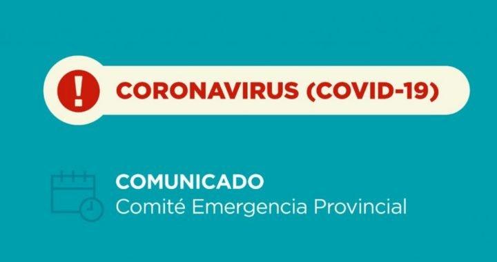 Coronavirus: Un caso Positivo en Las Lajas y otro en Neuquen capital