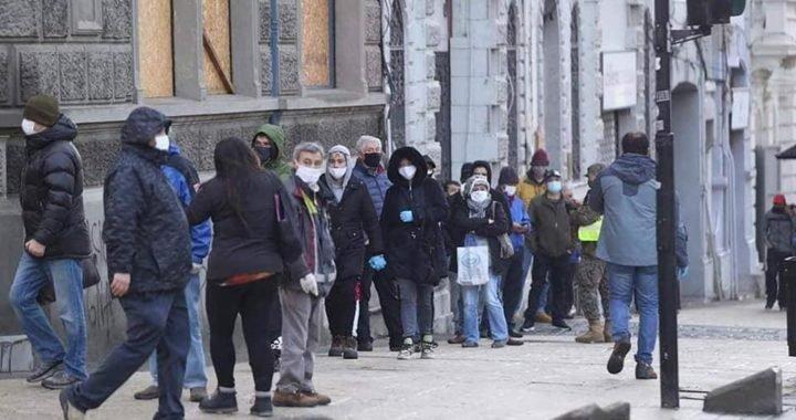 Chile: Punta Arenas levanto la cuarentena y salieron hasta los infectados