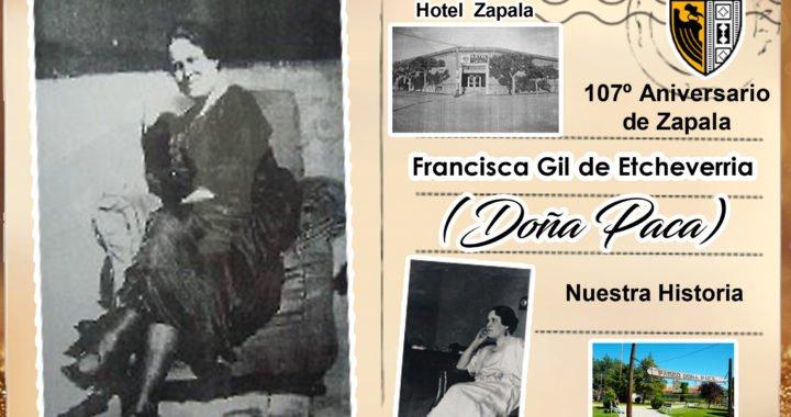 Francisca Gil de Etcheverria: Doña Paca