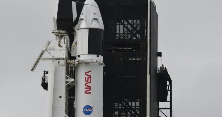 Todo listo para la histórica misión tripulada de la NASA y SpaceX a la EEI