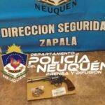 Zapala: allanamiento permitió secuestrar un arma de fuego