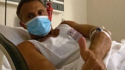 """Sergio Lapegüe habló desde su internación por coronavirus: """"El virus invadió mi pulmón derecho, me van a poner plasma"""""""