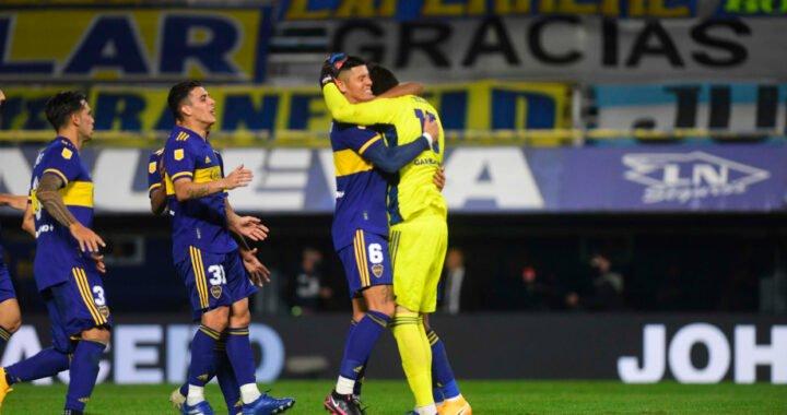Copa de la Liga: Boca dejó afuera a River con lo justo y por penales
