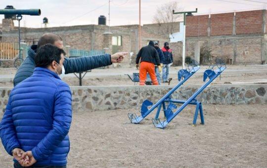 El Municipio continúa reacondicionando plazas y espacios verdes