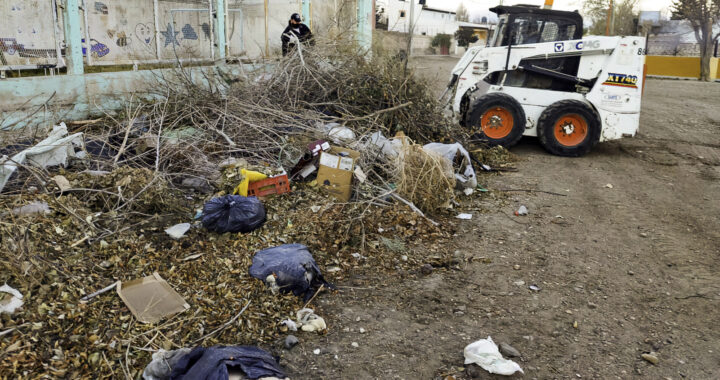 El municipio Insta a mantener la limpieza en esquinas y terrenos desocupados