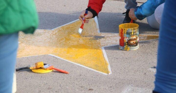 Estrellas Amarillas sumó un nuevo cartel en la ciudad