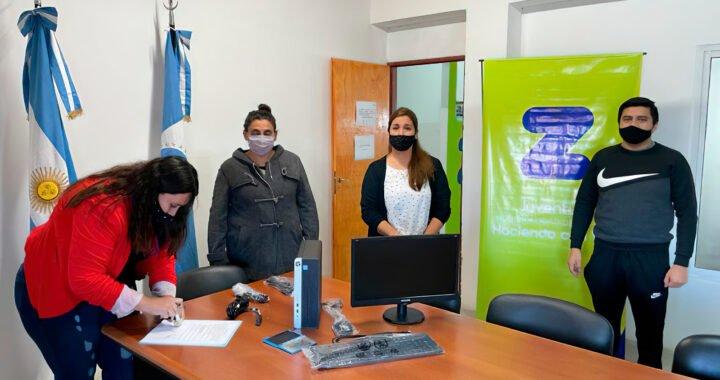 La Dirección de Juventud de Zapala recibió nuevo equipamiento