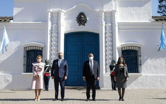 El Presidente encabeza en Tucumán el acto por el Día de la Independencia